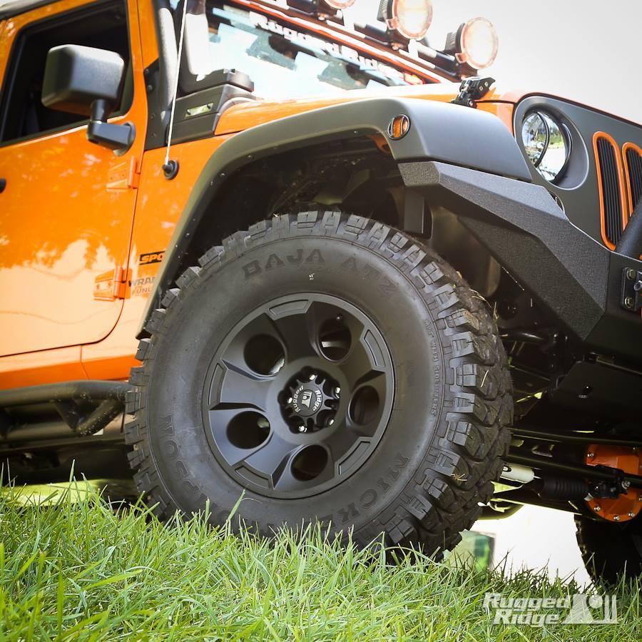 new rugged ridge drakon alloy wheels - jkowners : jeep