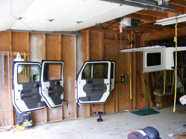 Diy Jeep Door Wall Storage Foto Jeep And Wallpaper Hd