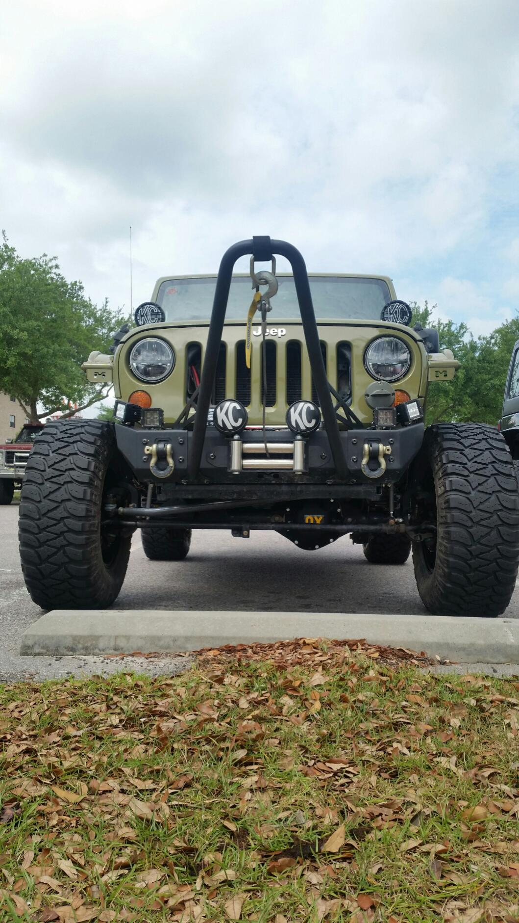 OFF ROAD ONLY ORO HOP-STOPPER STOP HOOD HOP COMPLETELY ON ALL JEEP WRANGLER JK!