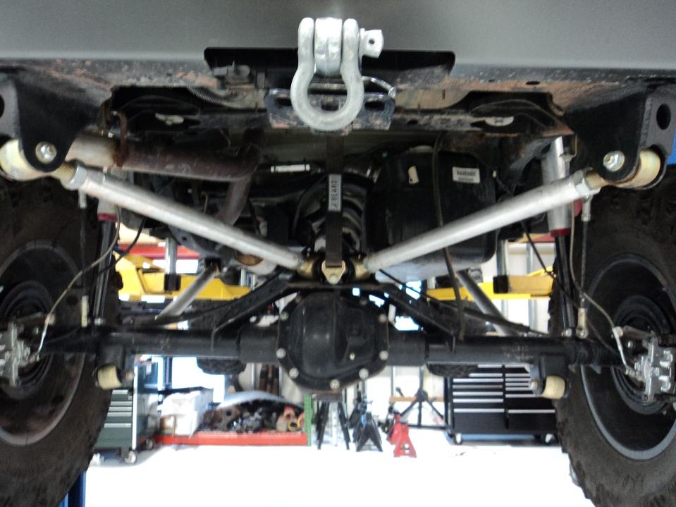 Reverse triangulated 4 link - JKowners com : Jeep Wrangler