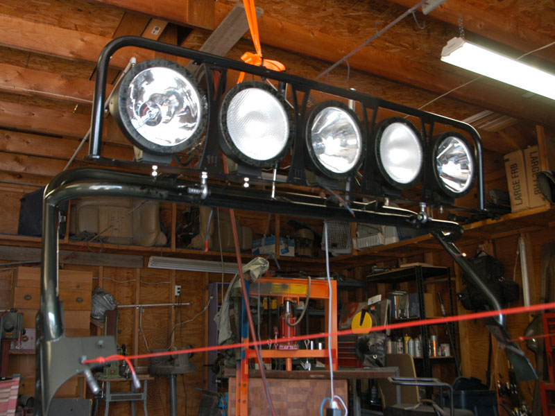 Solution for mirrors for those with light bars and my new bar attached images aloadofball Gallery