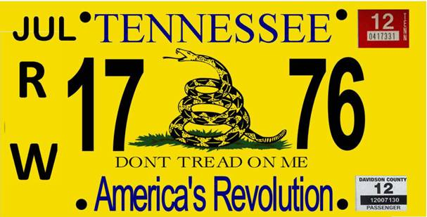 tennessee dont tread on me license plates jkowners com jeep