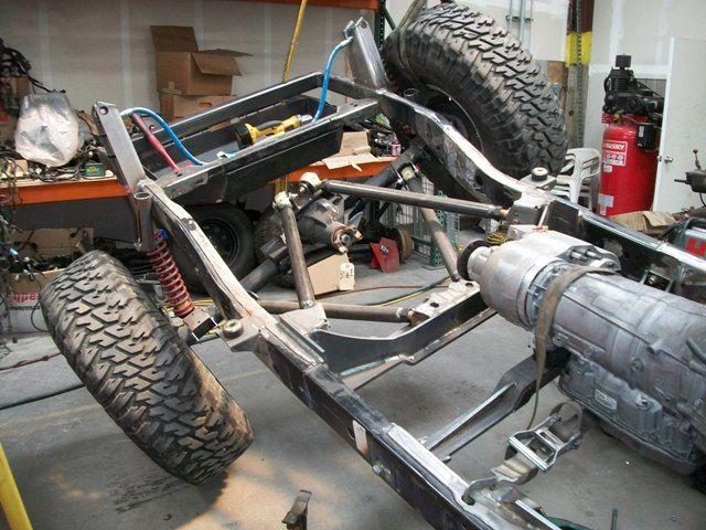 Double Triangulated 4-Link - JKowners com : Jeep Wrangler JK