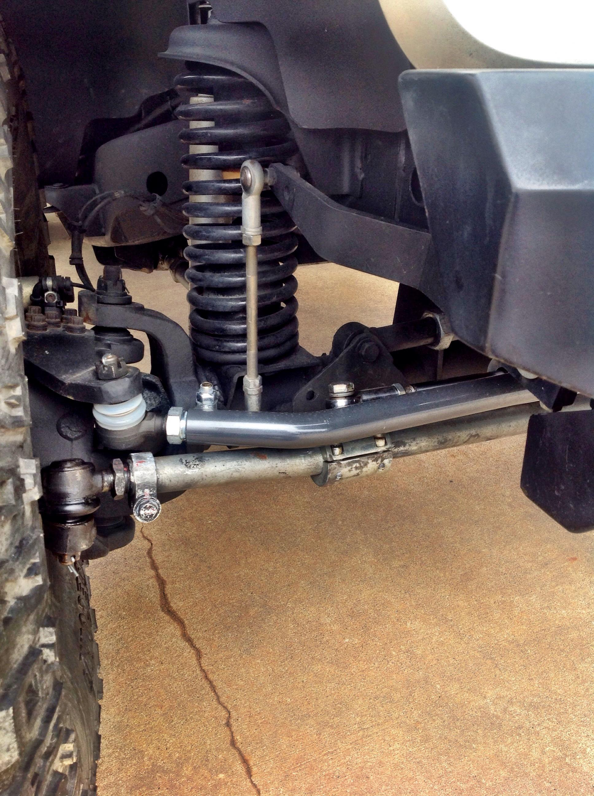 2009 Jeep Wrangler Drag Link Jk Interference With A Hydro Setup 1935x2591