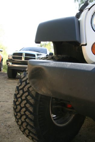 jeep bumper repair  Stock Bumper / Fender Repair - JKowners.com : Jeep Wrangler JK Forum
