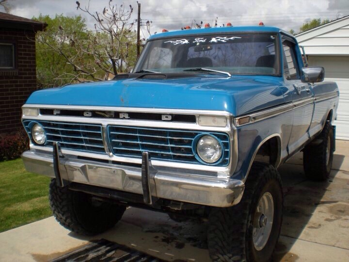 Performance Ford Bountiful >> '73 Ford Highboy F250 - JKowners.com : Jeep Wrangler JK Forum