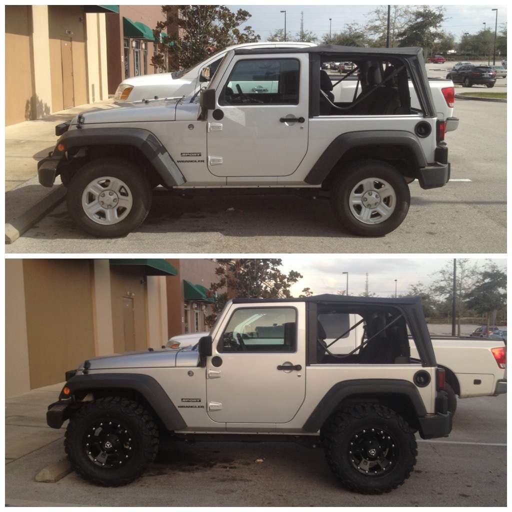 lift advice for 33 tires jeep wrangler jk forum. Black Bedroom Furniture Sets. Home Design Ideas