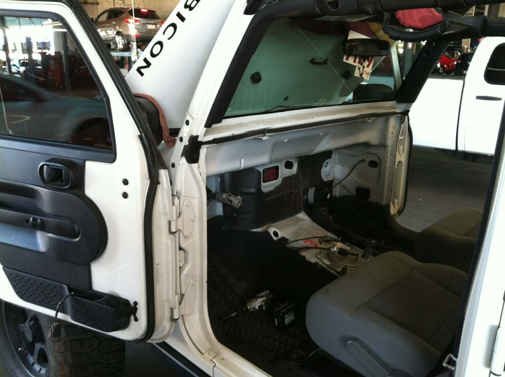 Dash And Heater Case Removal Jkowners Com Jeep