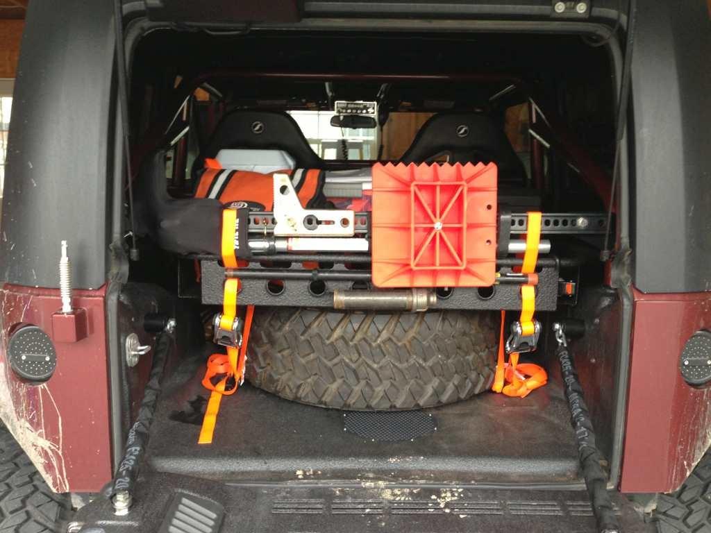 Cargo Basket Pics Page 3 Jkowners Com Jeep Wrangler