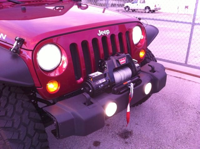 STOCK BUMPER WINCH MOUNT - JKowners com : Jeep Wrangler JK Forum