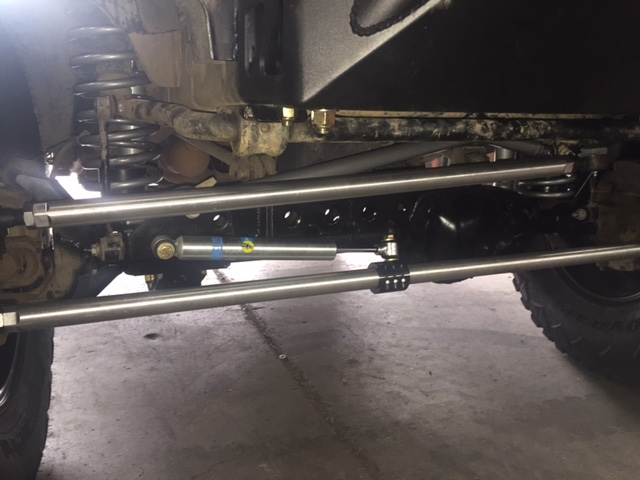 NEW ALUMINUM RPMFAB Tie Rod and Drag link Flip Kit