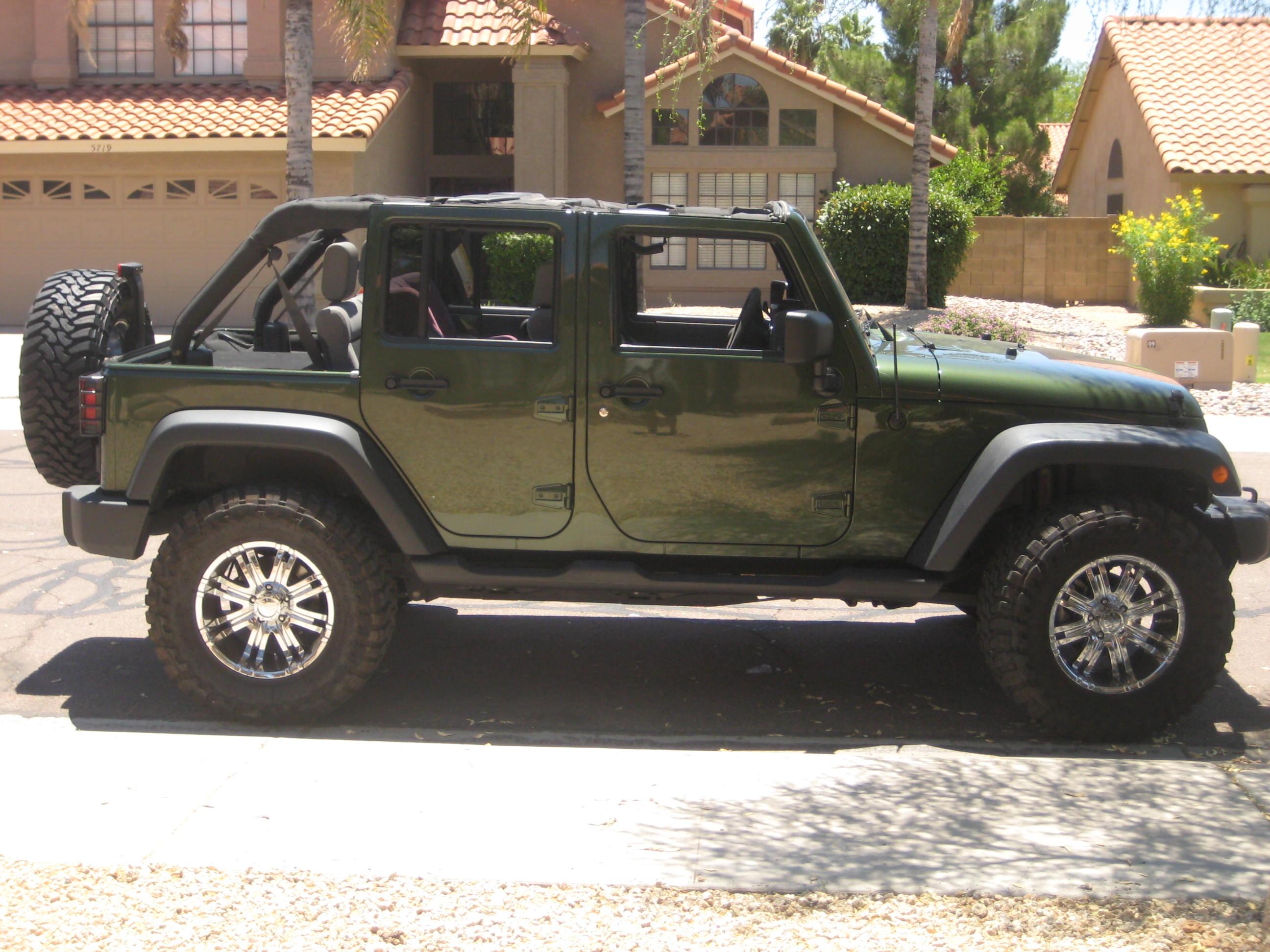 2008 jeep green wrangler unlimited 4x4 - jkowners : jeep