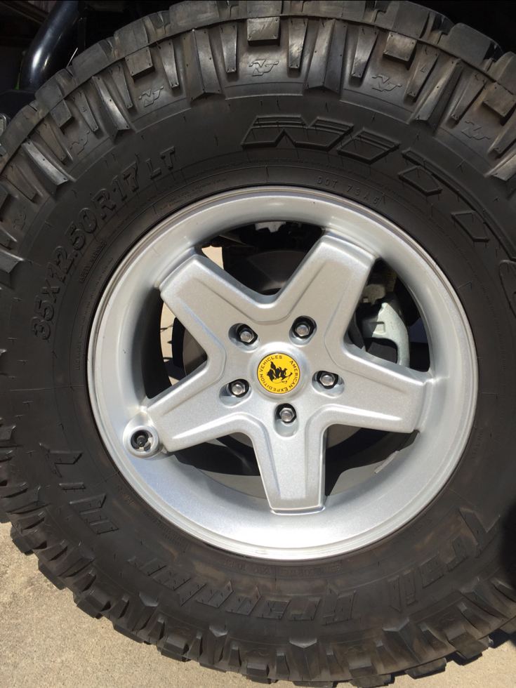 Aev Jeep For Sale >> 5 AEV Pintler Wheels for Sale (Silver) - JKowners.com