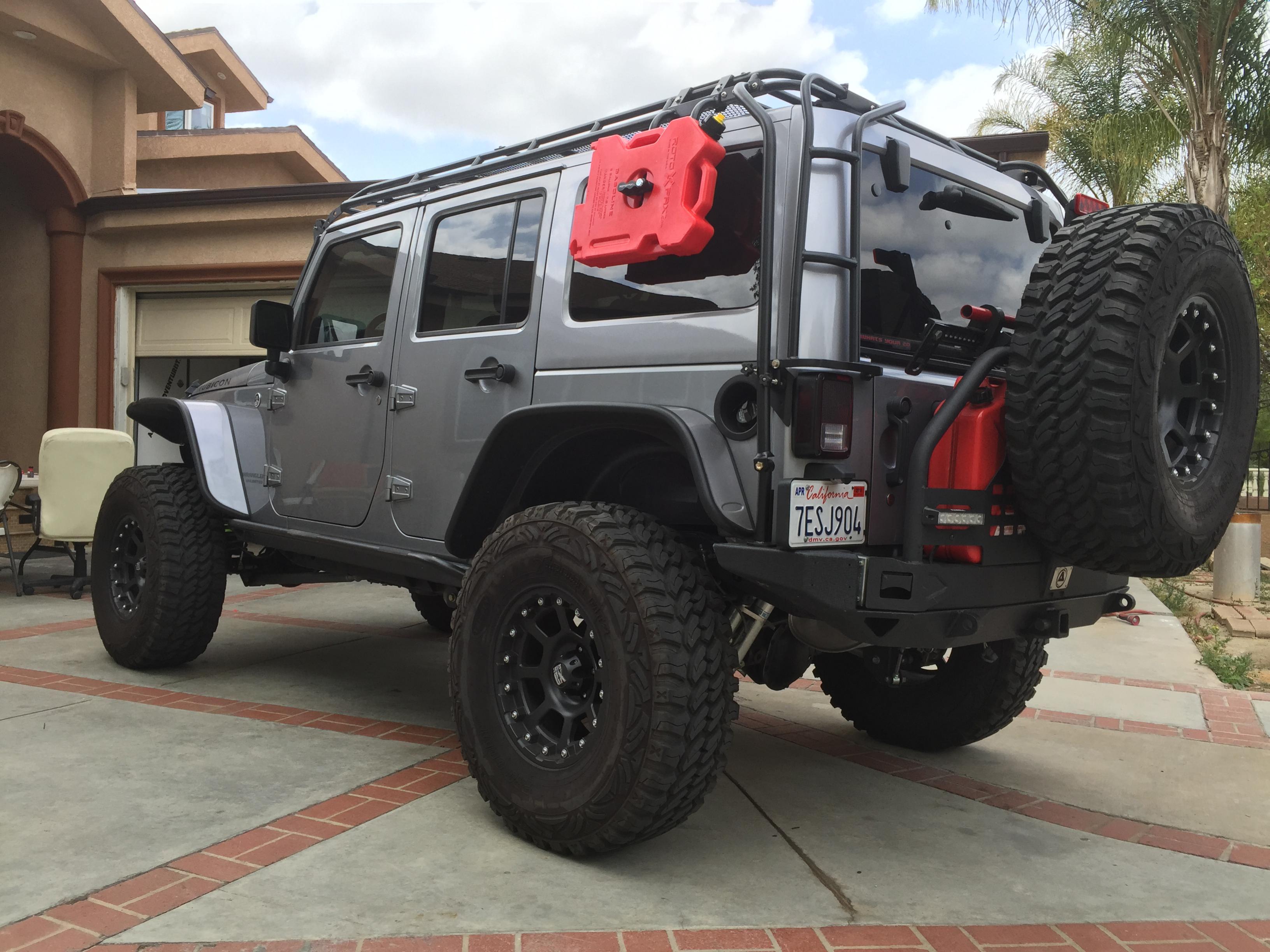 Jeep Jku Roof Rack >> Jeep JK Roof Rack - JKowners.com : Jeep Wrangler JK Forum