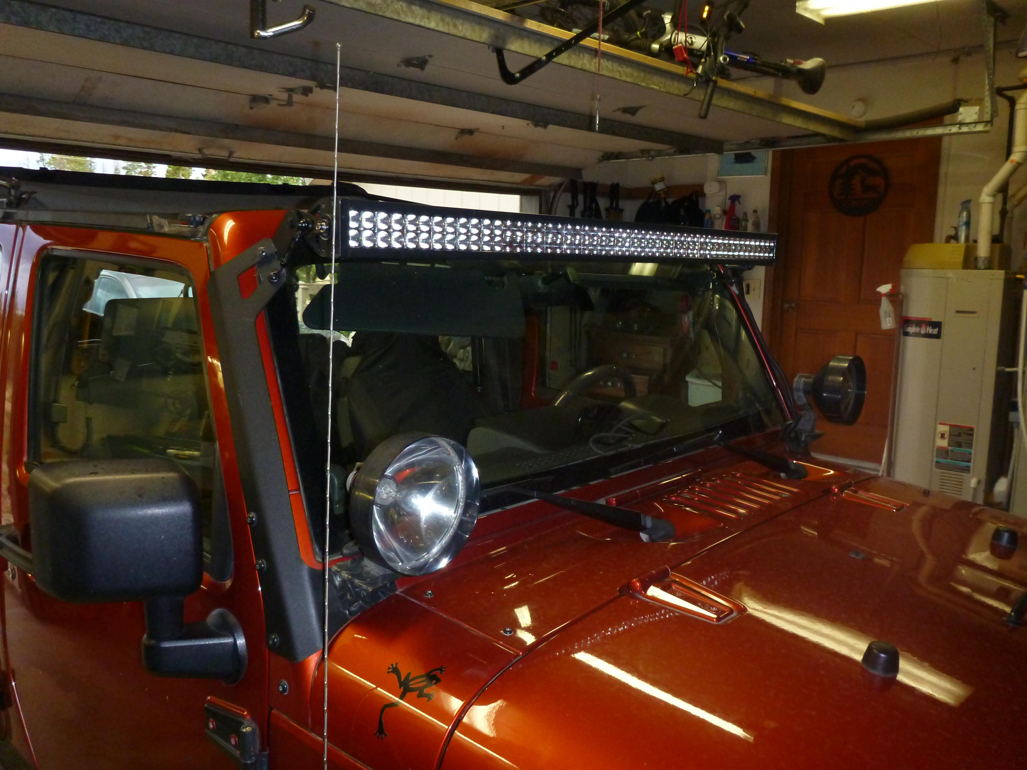 The Dreaded Lightbar noise.. - JKowners.com : Jeep Wrangler JK Forum