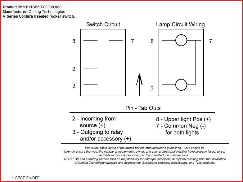 [SCHEMATICS_4US]  Light switches from OTRATTW | JKOwners Forum | Otrattw Switch Wiring Diagram |  | JKOwners Forum