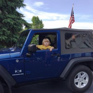 Jake in Jeep