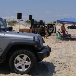 Jeep Outerbanks Flag