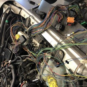 Old Wiring Harness