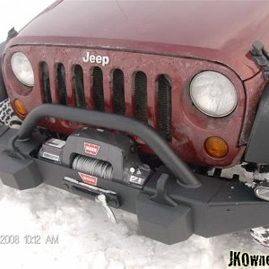 Mopar bumper and 9.5 TI winch