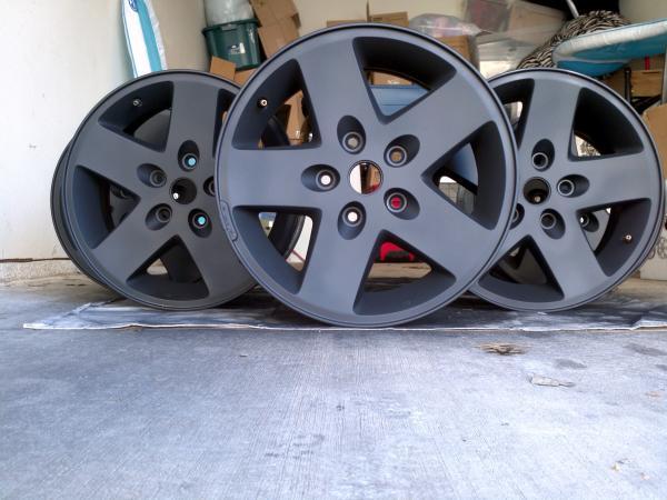 Painted Stock Wheels Jkowners Com Jeep Wrangler Jk Forum