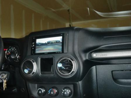 Added a Backup Camera - JKowners com : Jeep Wrangler JK Forum